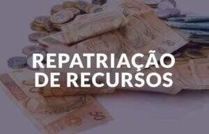 repatriação de recursos