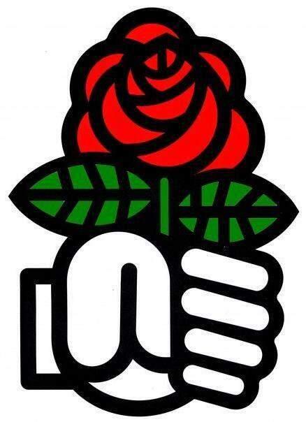 "Símbolo para a ""social democracia"""
