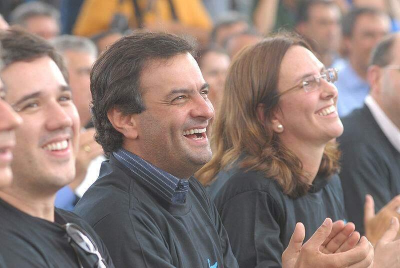 Andrea Neves e Aécio Neves