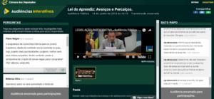 e-Democracia: como participar das decisões da Câmara?