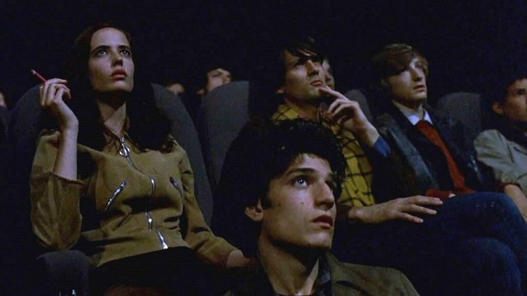 """Fotografia do filme """"Os Sonhadores"""". O longa representa como arte, política, estética e ética estavam em transe em 1968."""