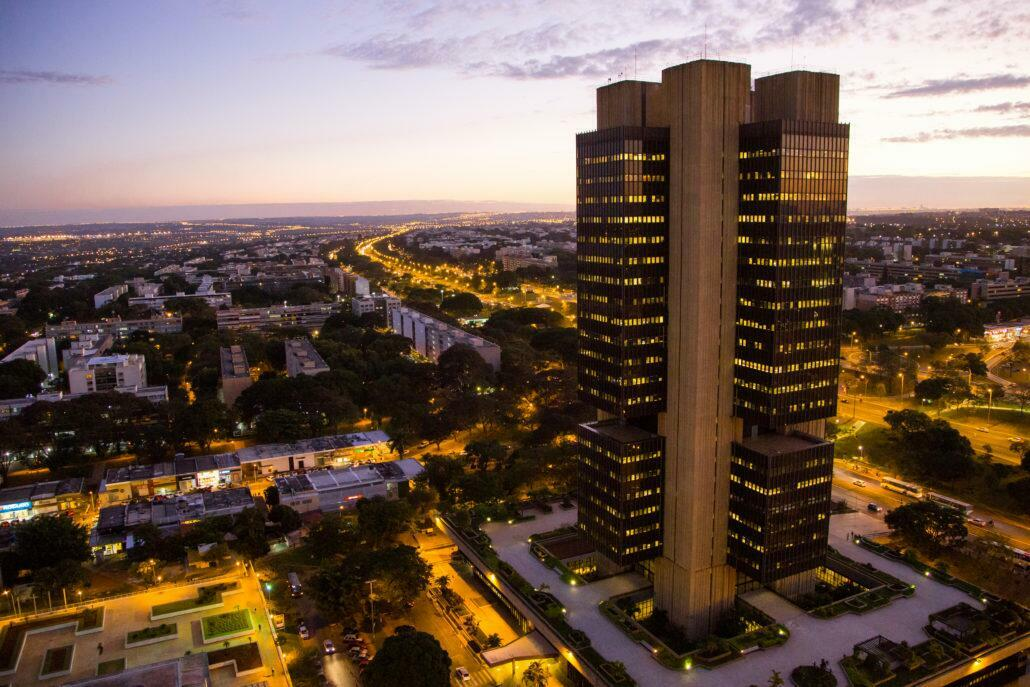 Sede do Banco Central em Brasília. Foto: Rodrigo Oliveira/Caixa Econômica Federal.