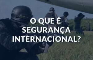 Segurança internacional
