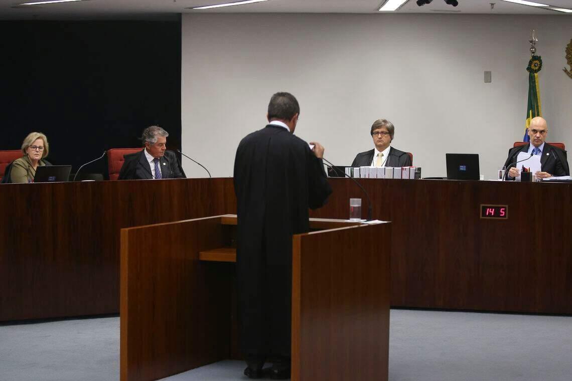 Primeira Turma do STF decide se Bolsonaro vira réu (Foto: Antonio Cruz   Agência Brasil).