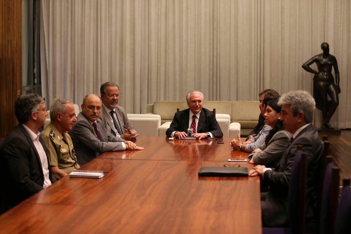 anuncia intervenção federal em Roraima (Foto: Fabio Rodrigues Pozzebom | Agência Brasil).