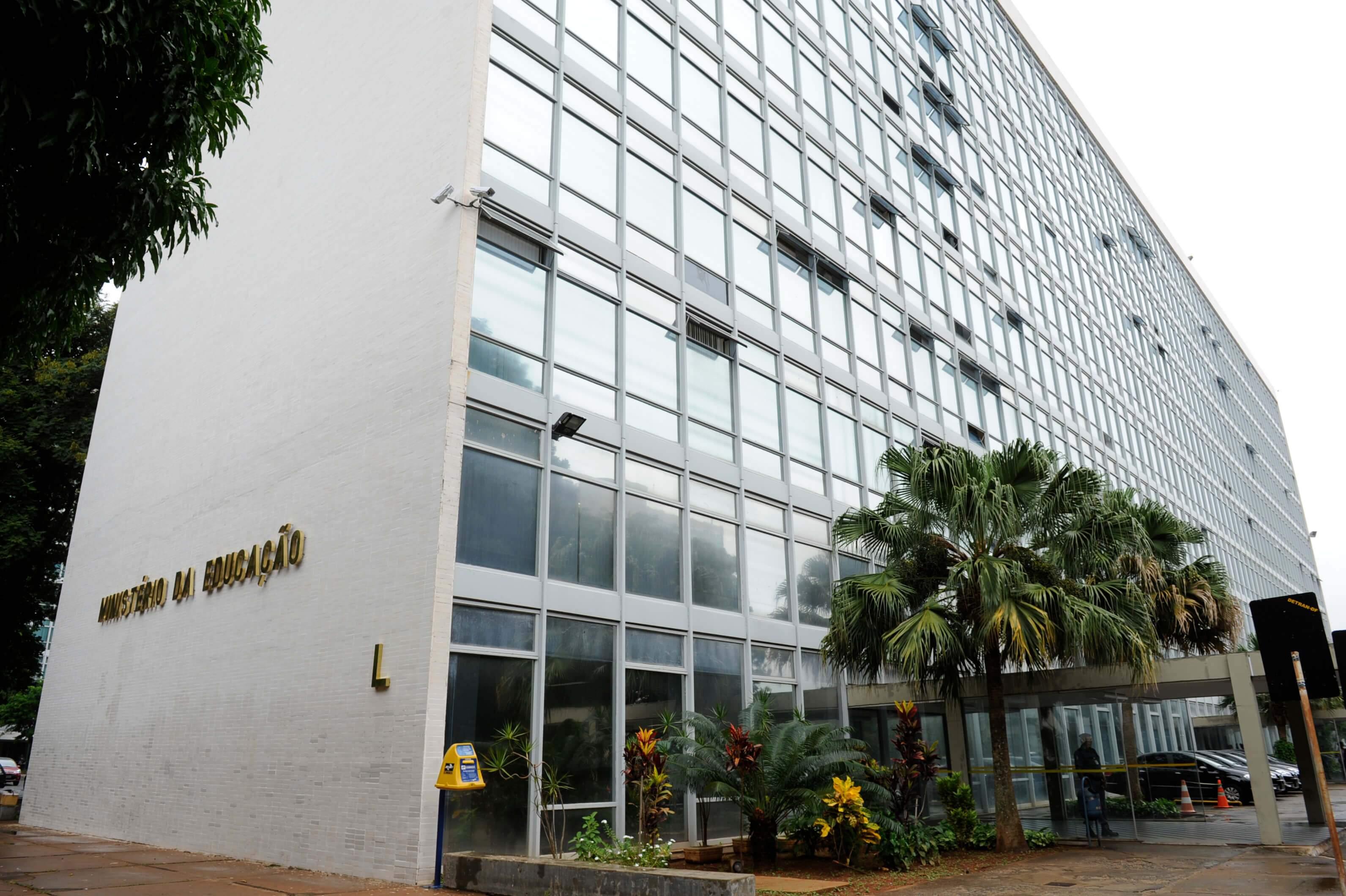 Prédio do Ministério da Educação, em Brasília