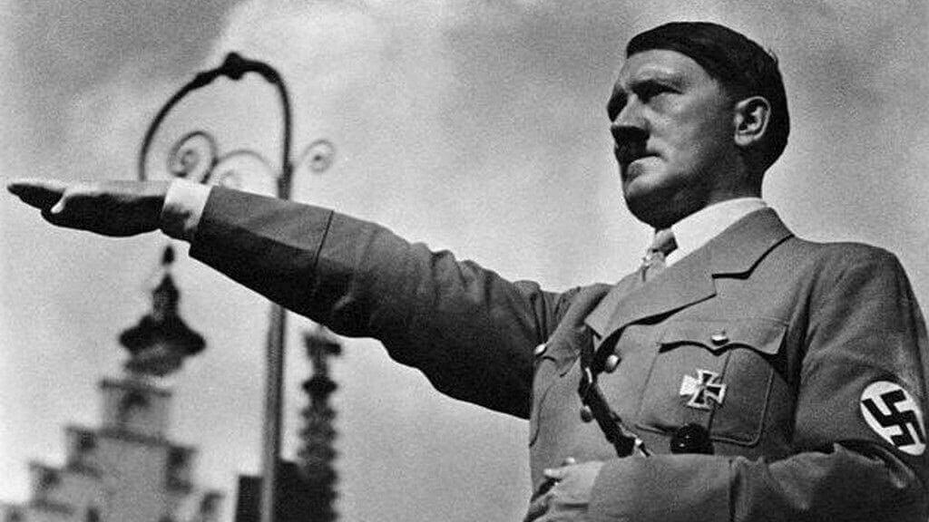 Adolf Hitler, líder da Alemanha Nazista.
