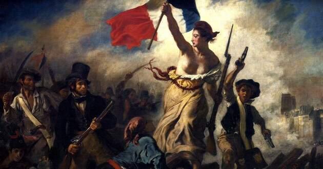 Burguesia - A liberdade guiando o povo