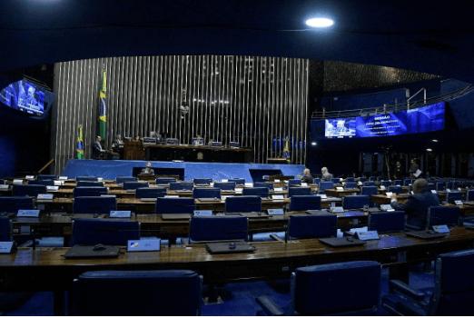 Plenário do Senado Federal durante sessão não deliberativa. Arquivo fotográfico do Senado