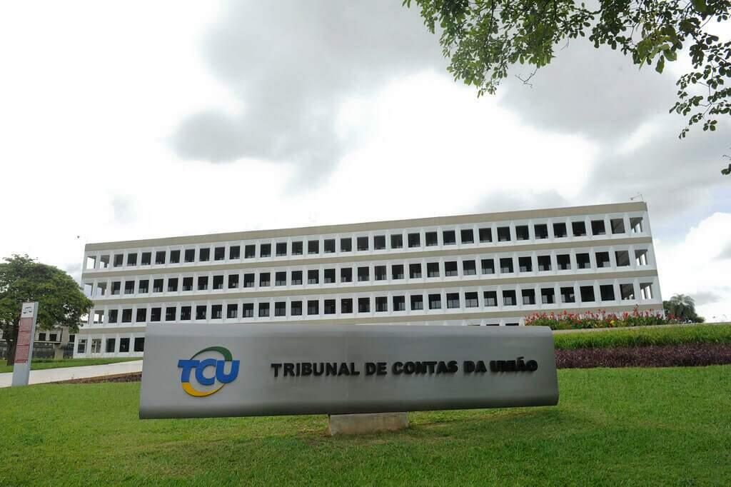 Fachada do prédio do Tribunal de Contas da União.