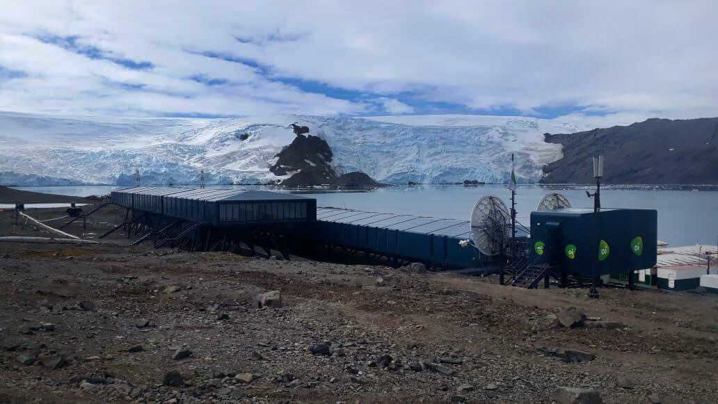"""Imagem da Estação brasileira na Antártica. Conteúdo sobre """"Ministério da Ciência, Tecnologia, Inovação e Comunicação - MCTIC"""