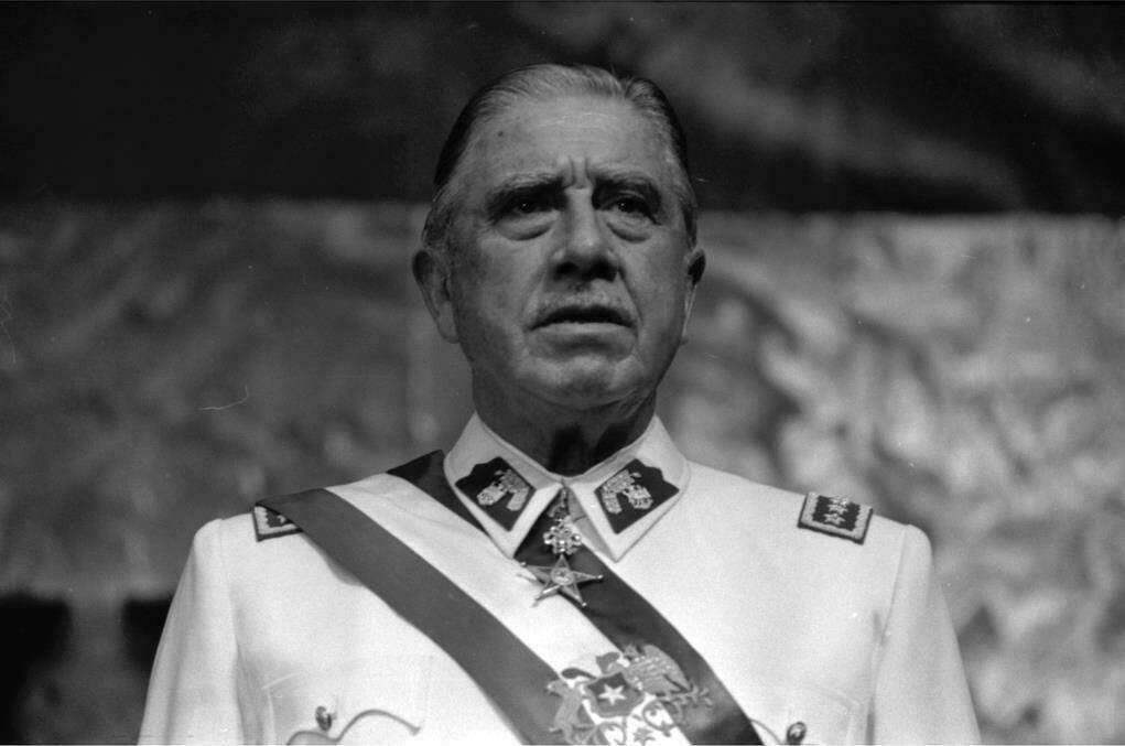 Ditador chileno Augusto Pinochet. Foto: Biblioteca del Congreso Nacional de Chile.