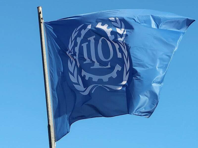 Bandeira da Organização Internacional do Trabalho,