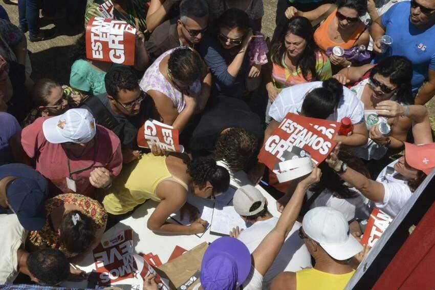 direito a greve no Brasil