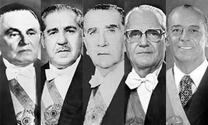 Presidentes do Brasil: ditadura militar