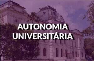 destaque autonomia universitária